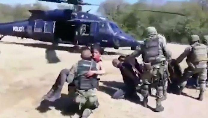 Gravement blessée, Maria Guadalupe Lopez Esquivel a été emmenée d'urgence dans un hélicoptère. Elle y serait décédée peu de temps après le décollage.