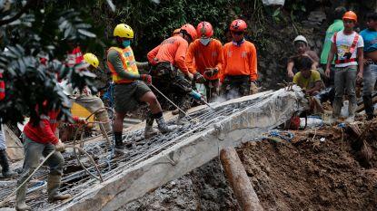 Filipijnse reddingswerkers zoeken vandaag verder naar vermisten na tyfoon