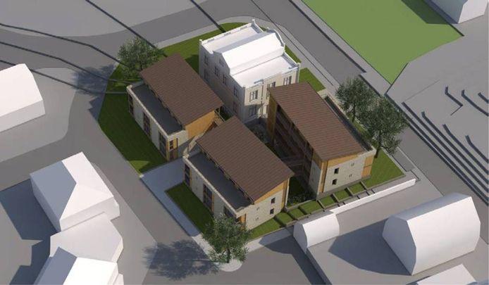 Het plan van Hendriks en de gemeente.