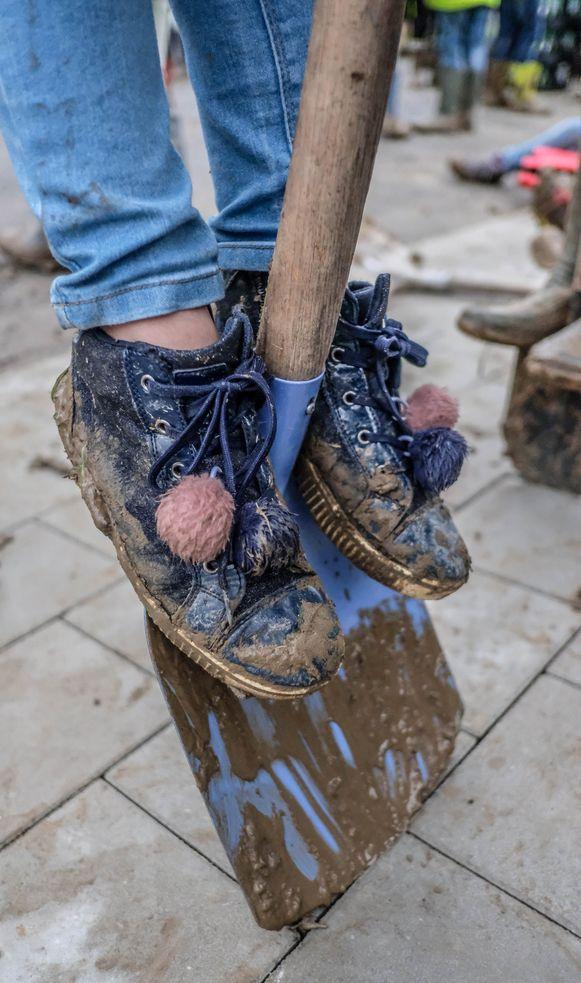 Dolle pret in de modder...