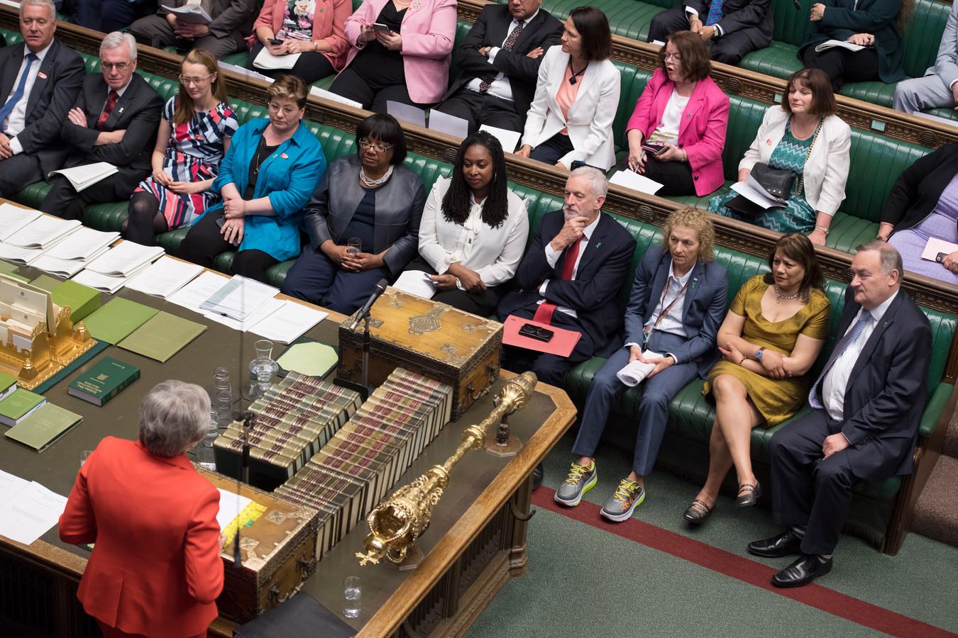 Séance au parlement britannique, le 15 mai dernier.