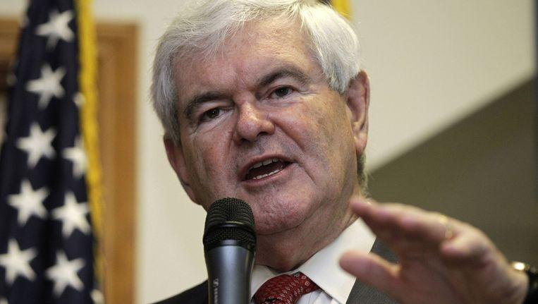 Newt Gingrich Beeld ap