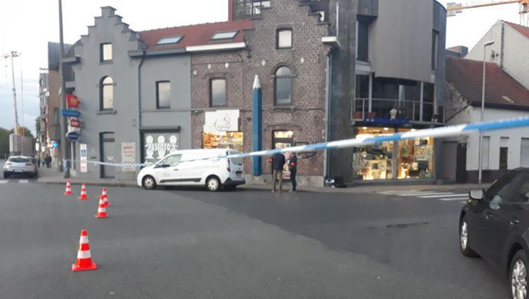 Buurtwinkel 't Ateljeeke in het centrum van Zelzate.