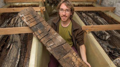 Wie wil 2.000 jaar oud hout afkomstig van Romeinse waterput?