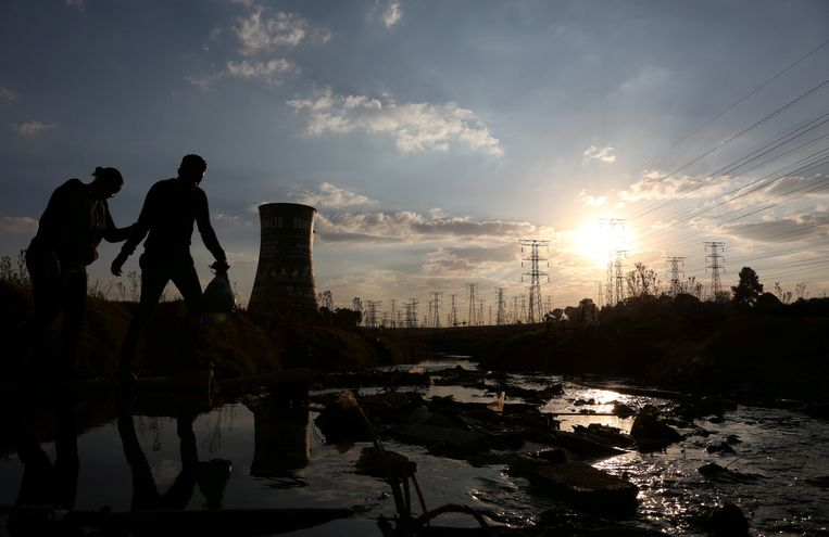 Energiecentrale in Soweto. Beeld REUTERS
