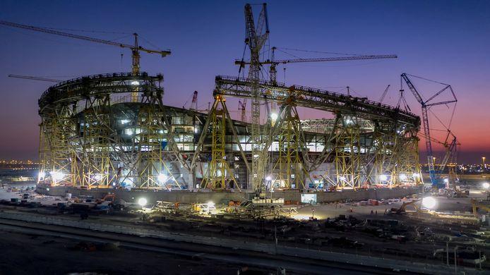 Qatar is momenteel druk bezig met de voorbereidingen op het WK van 2022.