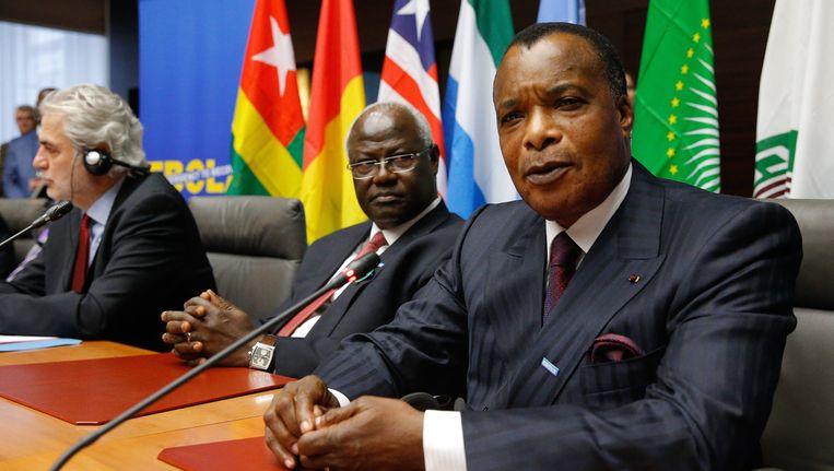 Denis Sassou-Nguesso Beeld EPA