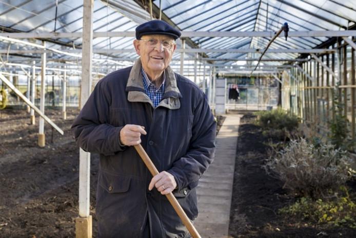 Gerrit van Lieshout werkt op zorgboerderij de Es.