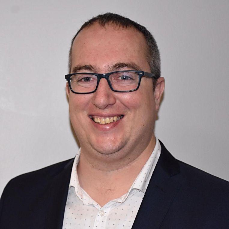 Steven De Schrijver, de nieuwe voorzitter van CD&V Haaltert.