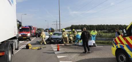 Vrouw gewond bij ongeval op N264 in Gennep