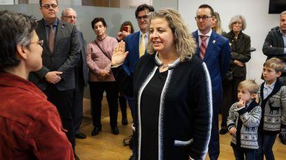 Sophie De Wit (N-VA) legt eed af als burgemeester