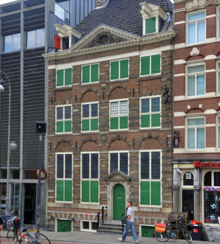 Het Amsterdamse Rembrandthuis aan de Jodenbreestraat. Beeld rv