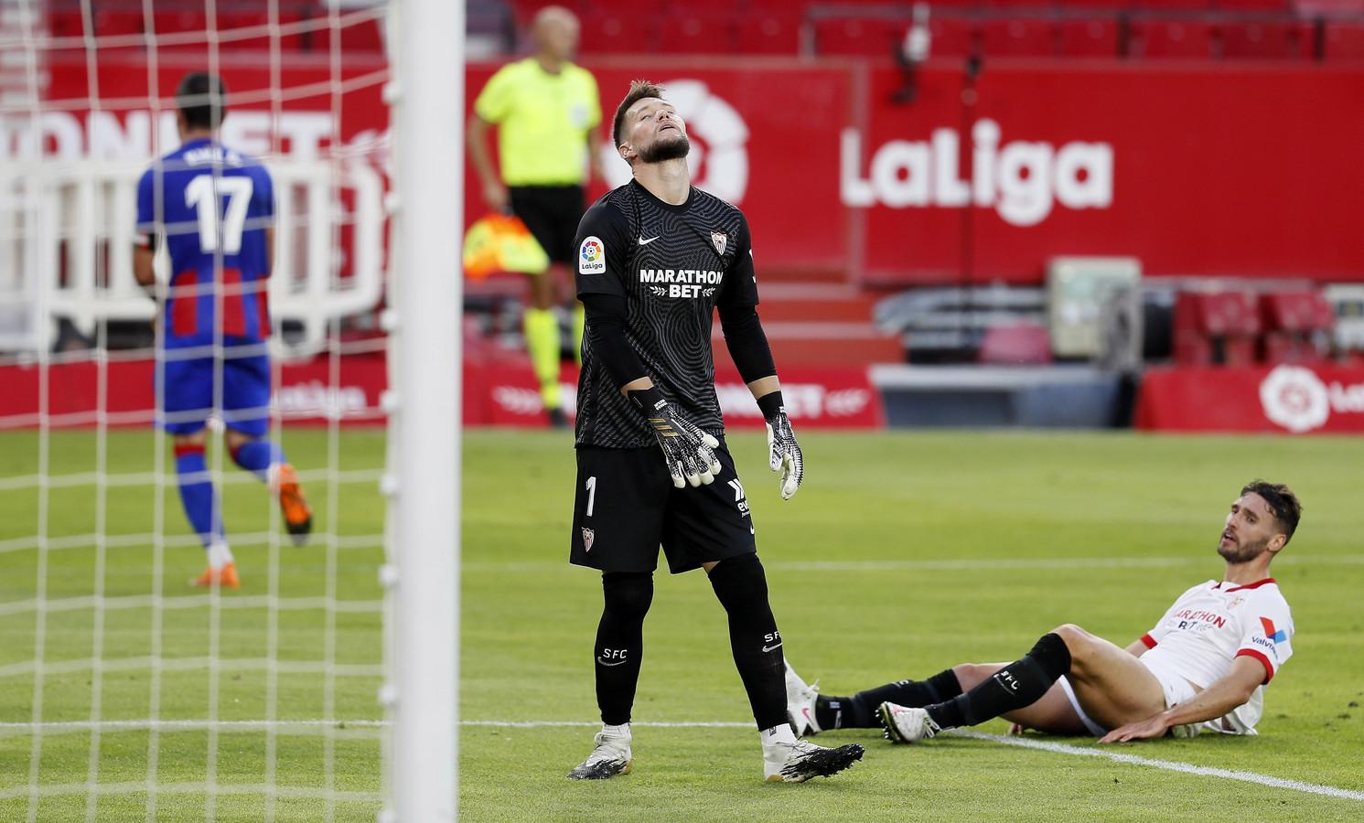 Sevilla weet in eigen huis niet te winnen van Eibar.