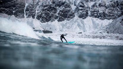 Nooit te koud om te surfen