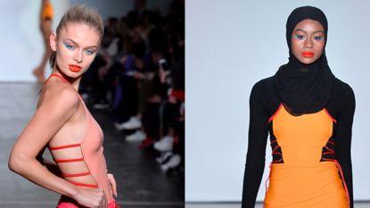 Volle modellen, hoofddoeken en littekens van borstkanker: dit was nu al de meest diverse show op NYFW