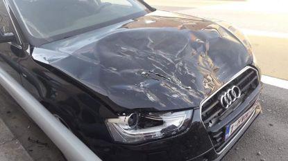 Terreinwagen knalt tegen geparkeerd voertuig  in Brielen