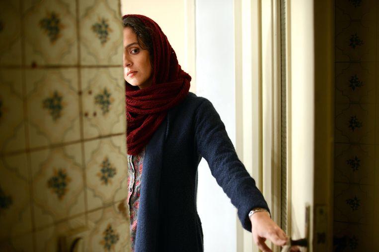 Taraneh Alidoosti in de film 'Forushande' (The Salesman)