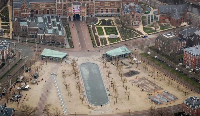 Het Museumplein.