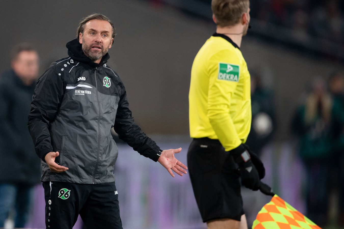 Thomas Doll, vorig seizoen de coach van het gedegradeerde Hannover 96