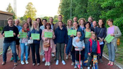 Atletiekclub Eerlijk Streven levert Nieuwe lichting lopers af