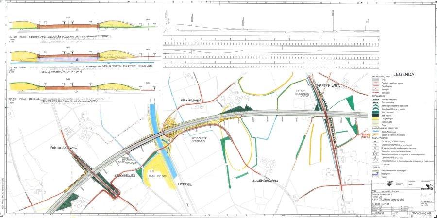 trace n18 kaart Stormloop op nieuwe N18 kaarten | Foto | tubantia.nl