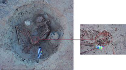 Archeologen vinden skelet van jonge vrouw die 3.700 jaar geleden stierf tijdens bevalling