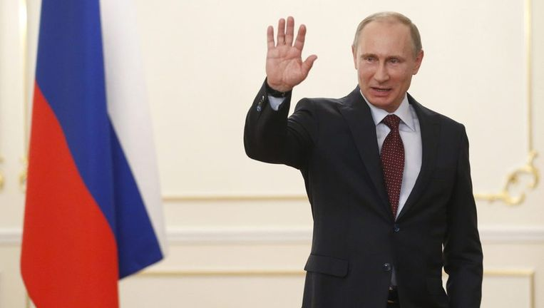 President Vladimir Poetin van Rusland. Beeld epa