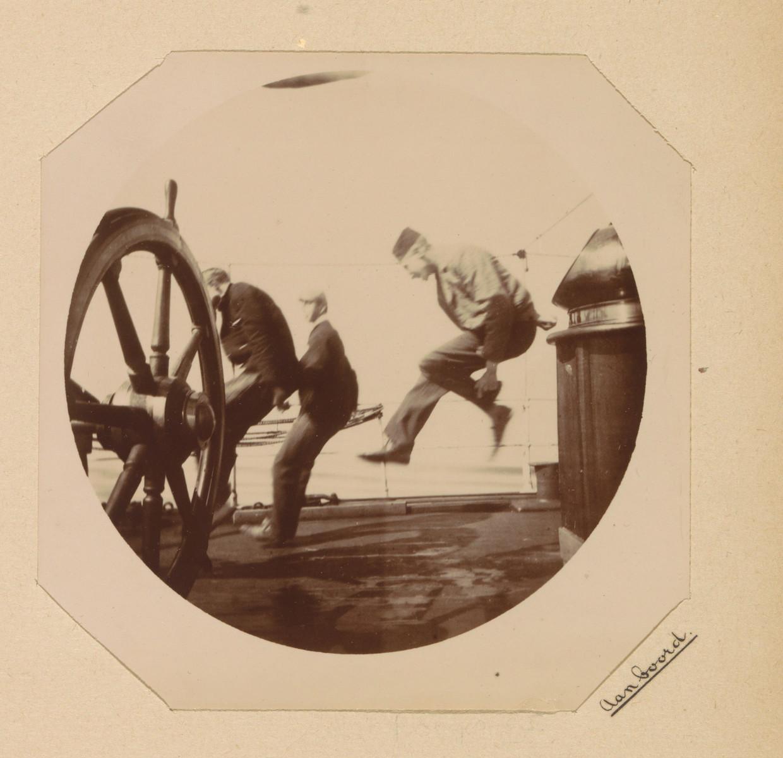 Aan boord, Willem Frederik Piek, ca. 1892 - ca. 1893