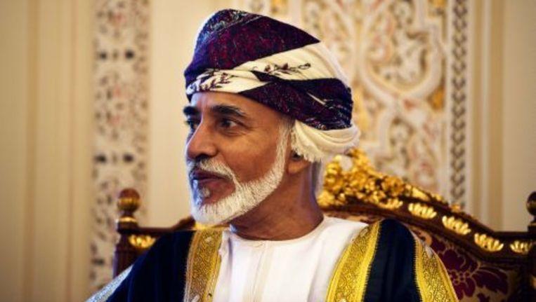 Sultan Qaboos bin Said. © anp Beeld