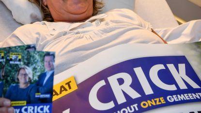 Campagne voeren kan schadelijke gevolgen hebben: Anny breekt bekken tijdens bedeling folders