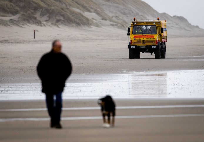 Op het strand is vanochtend weer gezocht.