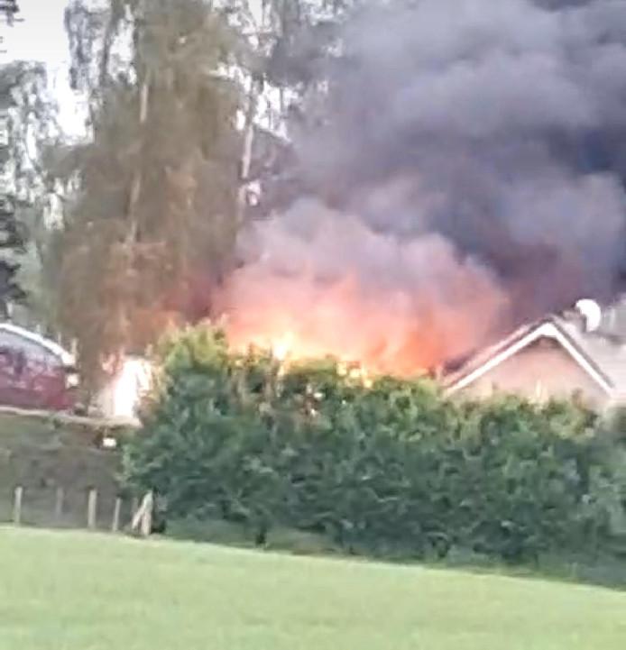 De brand aan de Papendijk