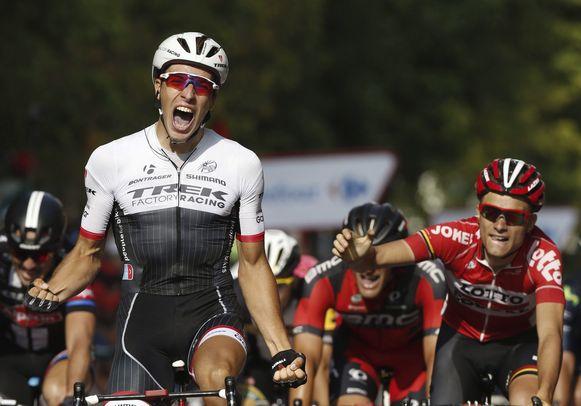 Van Poppel in de Ronde van Spanje in 2015.