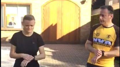VIDEO: Bart De Wever gaat nog even joggen