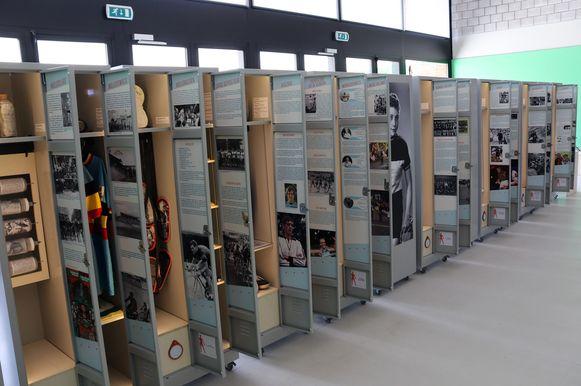 De rondtrekkende expo van de tentoonstelling