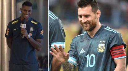 Ex-Bruggeling Wesley zingt én valt in bij Brazilië, maar Messi kaapt de kers op de taart weg