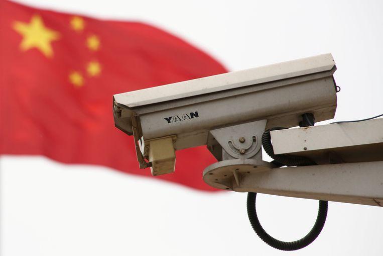 In China hangen inmiddels zo'n 200 miljoen bewakingscamera's en het worden er snel meer.
