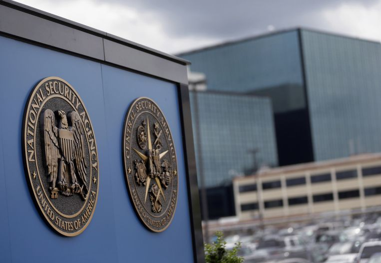 De NSA-campus in Fort Meade, Maryland. Beeld ap