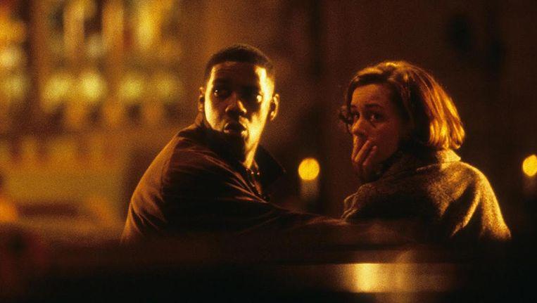 Denzel Washington in Fallen. Beeld