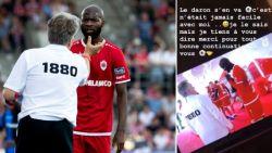 """Lamkel Zé zwaait Bölöni uit op Instagram: """"Ik weet dat het nooit makkelijk met mij was"""""""