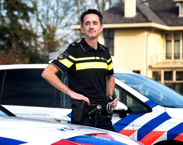 Politieman Rene Middag.
