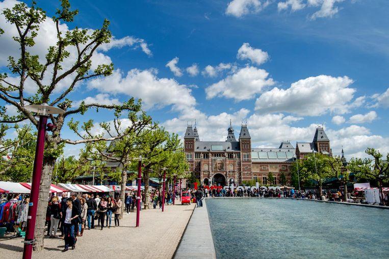 Het Rijksmuseum. Beeld ANP