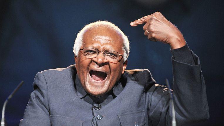 Oud-aartsbisschop Bisschop Desmond Tutu Beeld afp