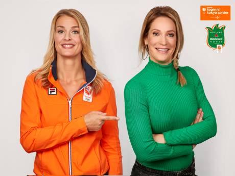 Hélène Hendriks huldigt Nederlandse sporters in Tokio
