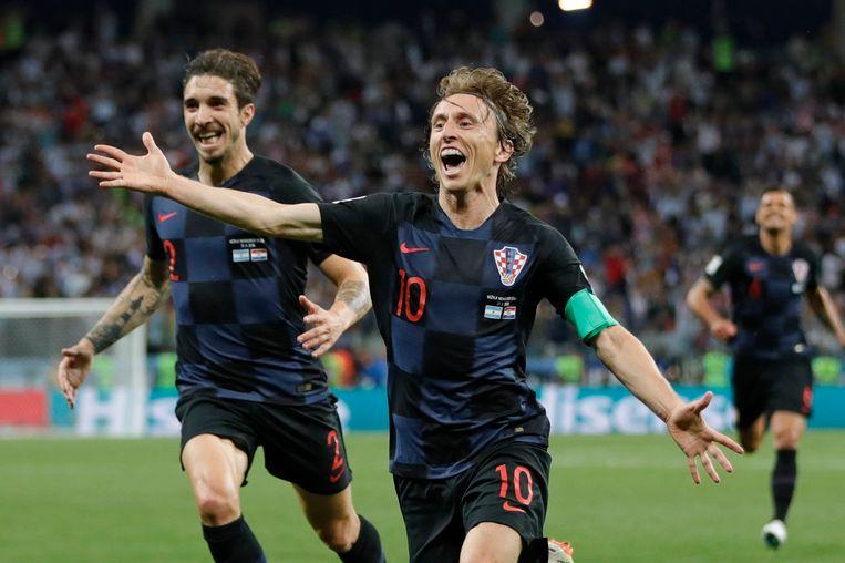 Modric bezorgde de Kroaten het delirium.