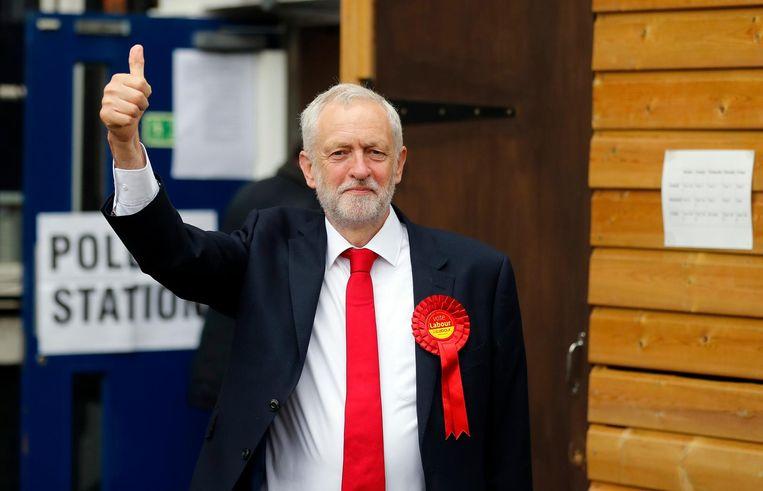 Jeremy Corbyn, leider van Labour. Beeld ap