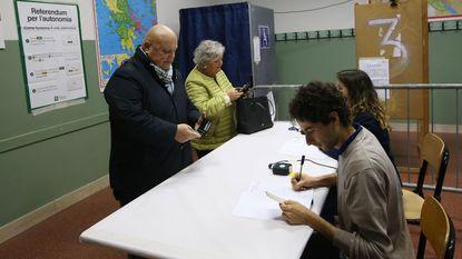 Ja-kamp eist overwinning op in gehackt referendum voor een autonomer Noord-Italië