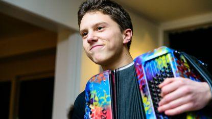 Jonge accordeonvirtuoos Seppe (24) eregast op Meulebeeks accordeonfestival
