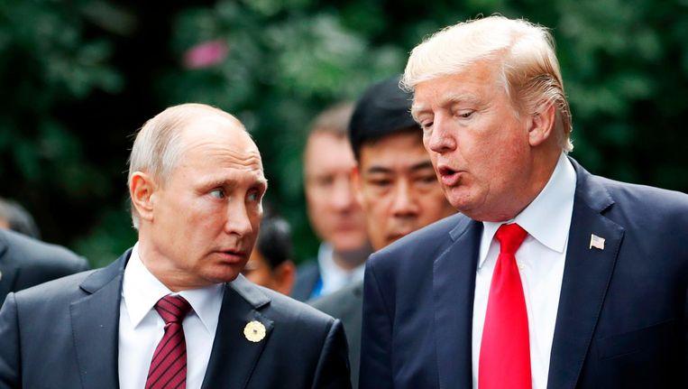 Op nucleair gebied beschuldigen de VS en Rusland elkaar niet alleen van schending van het INF-verdrag, maar ook van gevaarlijke aspecten in elkaars nucleaire doctrines. Beeld afp