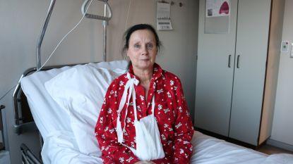 Linda (63) op zoek naar Dirk die haar afgelopen weekend redde van de dood